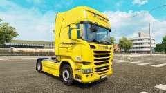 Correios de la peau pour Scania Streamline camio
