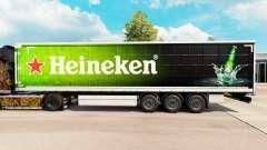 Haut Heineken für Vorhangfassaden semi-trailer
