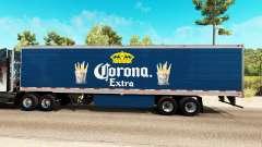 Corona Extra Haut auf der reefer-trailer
