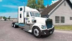 Die Haut auf der FedEx-truck-Freightliner Corona