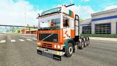 Volvo F10 8x4 heavy