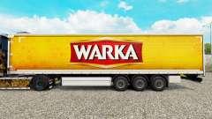 La peau Warka rideau semi-remorque