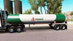 Skin v3 Pemex gas semi-tank