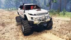 Range Rover Evoque LRX lifted