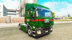 Sada Transportes de la peau pour Iveco tracteur