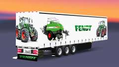 Vorhang semi-trailer Schmitz Cargobull Fendt v2.