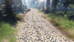Die textur der Steine