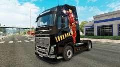 Iron Man skin für Volvo-LKW