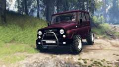 UAZ-315195 hunter turbo v3.0