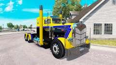 Haut Langen Weg-Transport für LKW-Peterbilt 351