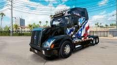 American Flag-Haut für Volvo-LKW-VNL 670