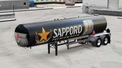 La peau de Sapporo pour les semi-réservoir