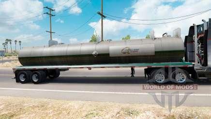 La peau sur Quaker State semi-réservoir pour American Truck Simulator