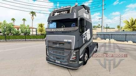 Volvo FH16 2013 v2.1 pour American Truck Simulator