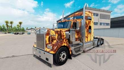 La peau de Rouille sur le camion Kenworth W900 pour American Truck Simulator