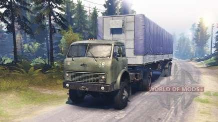 MAZ-504В für Spin Tires