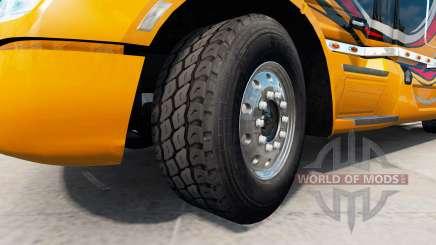 De nouvelles jantes et de pneus v1.2.1 pour American Truck Simulator
