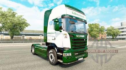Binotto de la peau pour Scania camion pour Euro Truck Simulator 2
