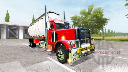 Peterbilt 388 water tanker pour Farming Simulator 2017