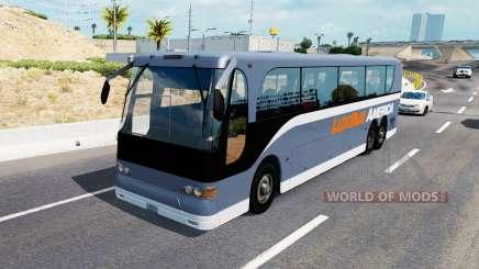Une collection de bus dans la circulation v1.0.1 pour American Truck Simulator