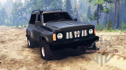 Nissan Patrol GR (Y60) für Spin Tires