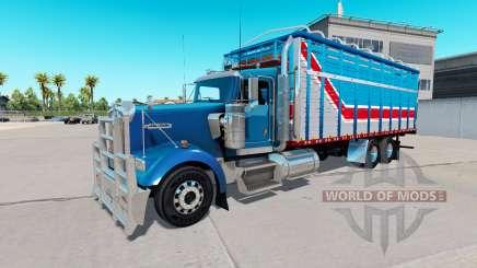 Le corps de van type de Kenworth W900 pour American Truck Simulator