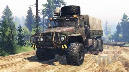 Ural-375 v2.0 für Spin Tires
