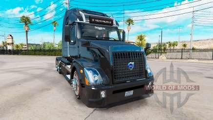 Volvo VNL 670 black pour American Truck Simulator