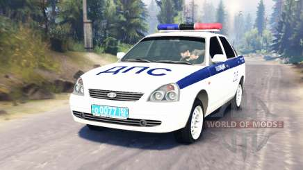 LADA Priora Police DPS (VAZ-2170) pour Spin Tires