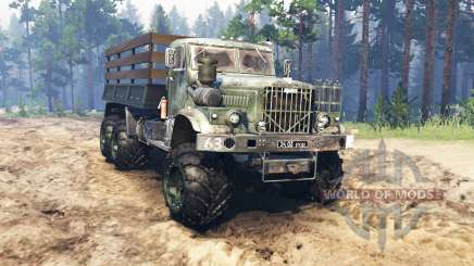 KrAZ-255 v4.0 pour Spin Tires