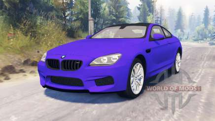 BMW M6 (F13) pour Spin Tires