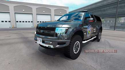 Ford F-150 SVT Raptor v2.1 für American Truck Simulator
