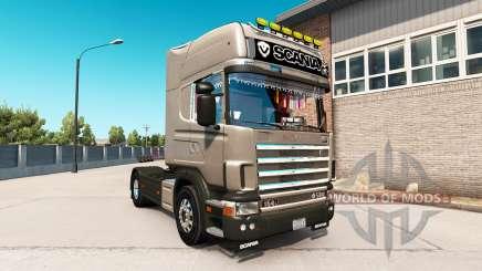 Scania 164L 580 Topline pour American Truck Simulator