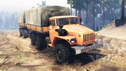 Ural-4320 für Spin Tires
