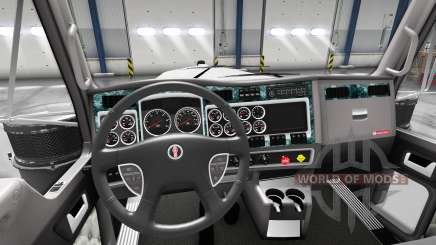 Innenausstattung Holz für Kenworth W900 für American Truck Simulator