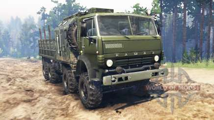 KamAZ-6350 Mustang pour Spin Tires