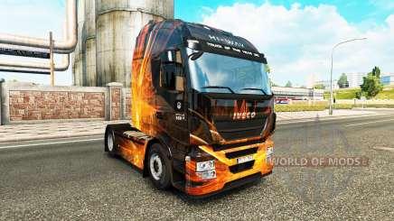 Cubique, les Reflets de la peau pour Iveco tracteur pour Euro Truck Simulator 2