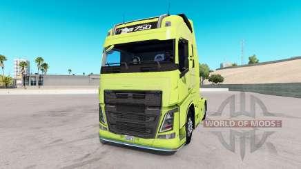 Volvo FH16 2013 v2.2 pour American Truck Simulator