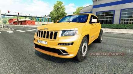 Jeep Grand Cherokee SRT8 v1.1 pour Euro Truck Simulator 2