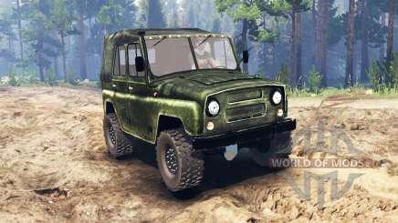 UAZ-469 für Spin Tires