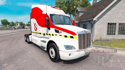 Les chasseurs de fantômes de la peau pour le camion Peterbilt 579 pour American Truck Simulator