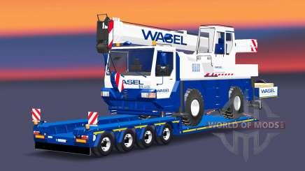 Bas de balayage avec Liebherr LTM 1030 pour Euro Truck Simulator 2