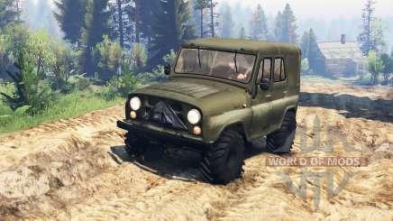 UAZ-31512 v2.0 für Spin Tires