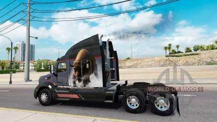 La fumée d'échappement v2.5 pour American Truck Simulator