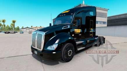 De la peau pour TMC tracteur Kenworth T680 pour American Truck Simulator