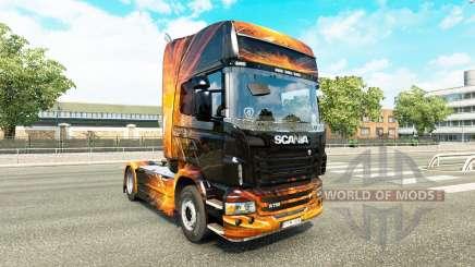 Cubique, les Reflets de la peau pour Scania camion pour Euro Truck Simulator 2