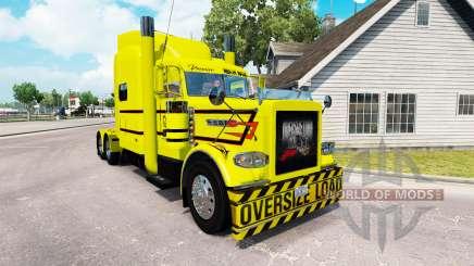 La peau Premier ministre Lourds Courriers pour le camion Peterbilt 389 pour American Truck Simulator