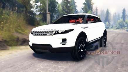 Range Rover Evoque LRX für Spin Tires