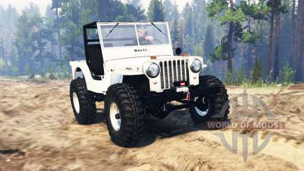 Jeep Willys pour Spin Tires
