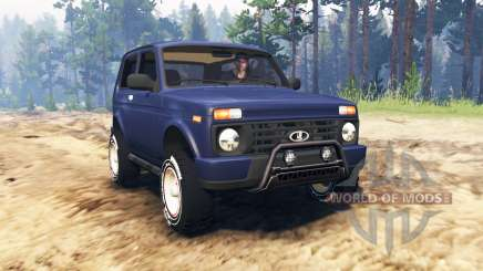 ВАЗ-21214 (Lada 4x4 Urbain) pour Spin Tires